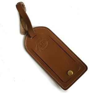 Ghurka Marley Hodgson Luggage Tag Leather